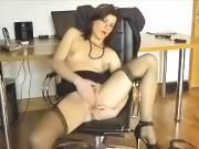 Sexy Lingerie Secretary